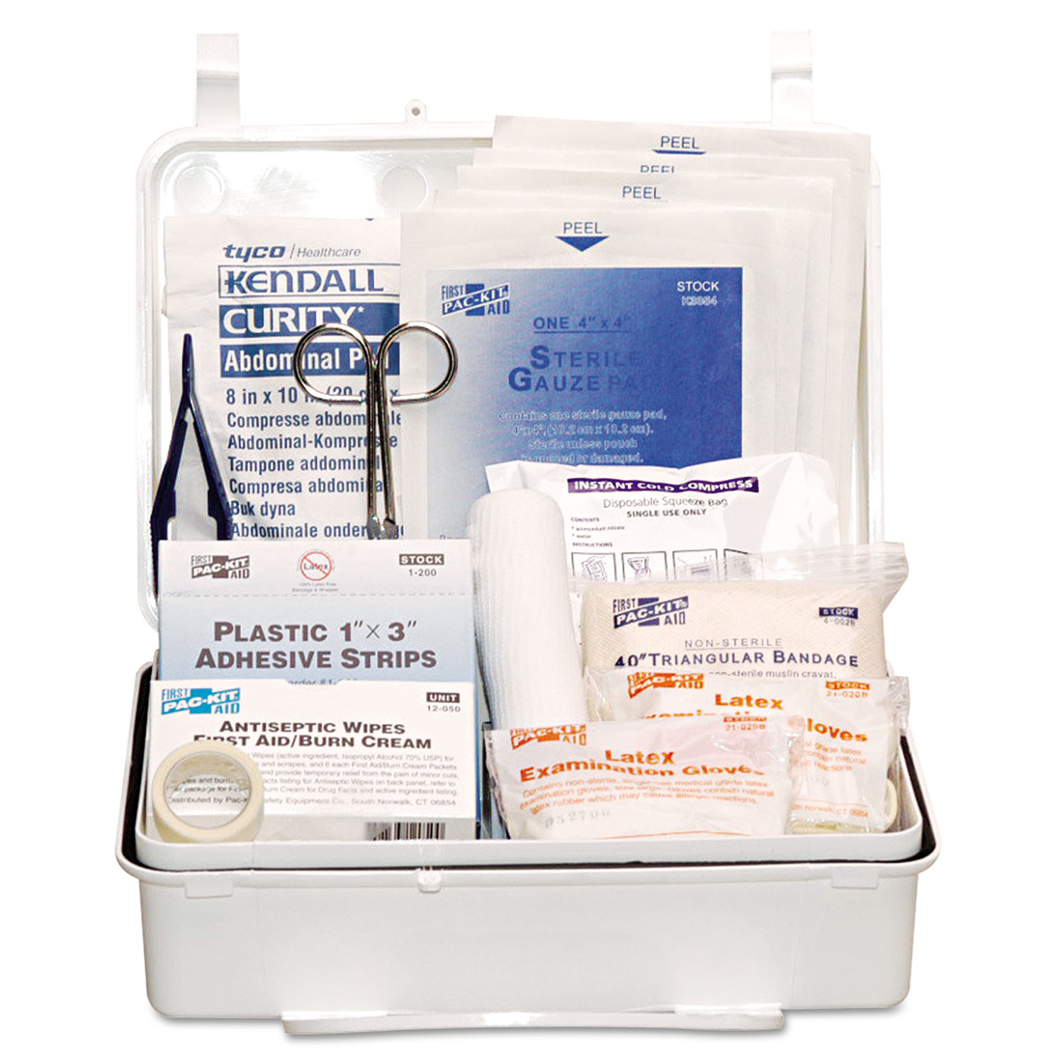 Industrial #25 Weatherproof First Aid Kit, 159-Pieces, Plastic Case