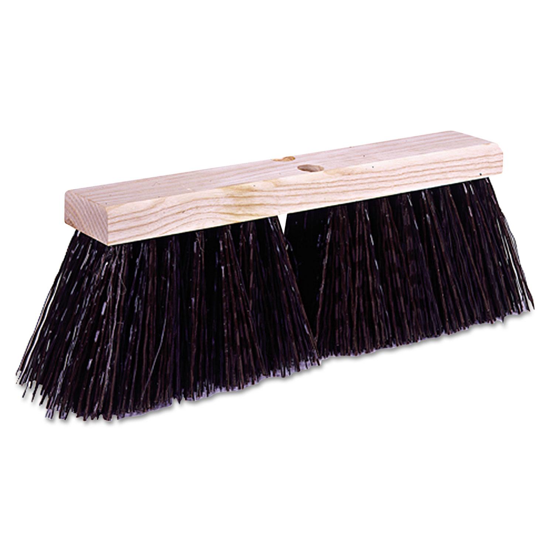 Street Broom, Synthetic Fill, 16