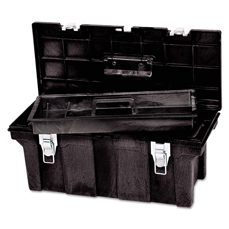 Tool Box, 26in, Black