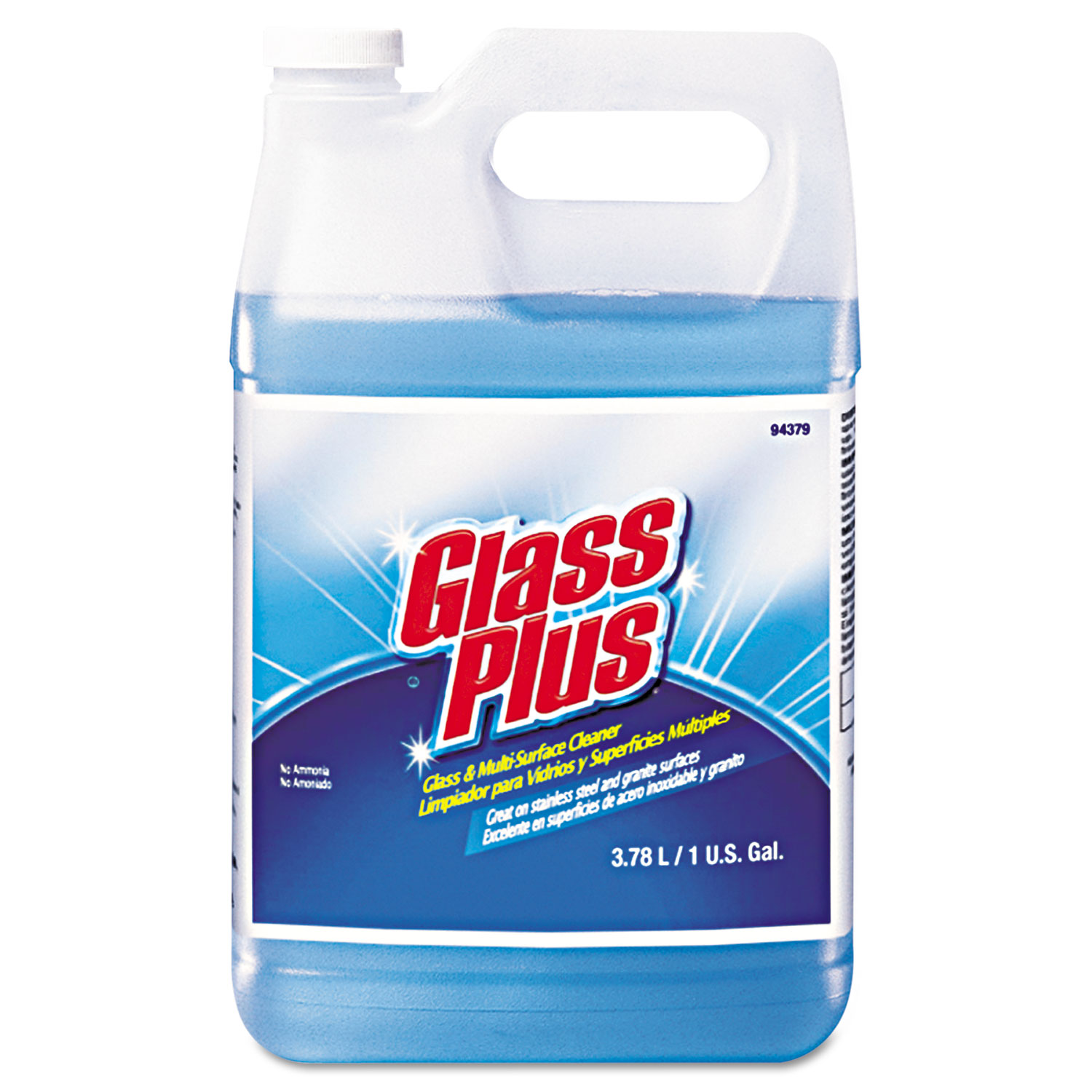 Glass Cleaner, Floral, 8gal Bottle, 8/Carton