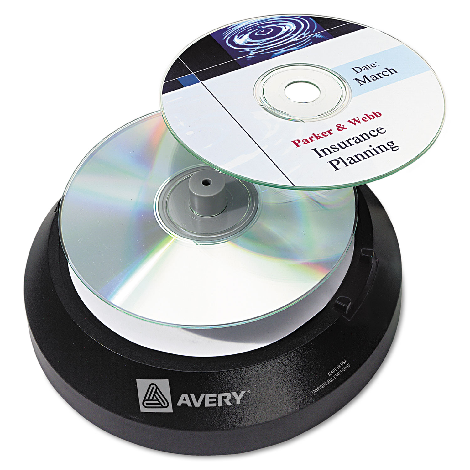 cd dvd label applicator by avery ave05699 ontimesupplies com