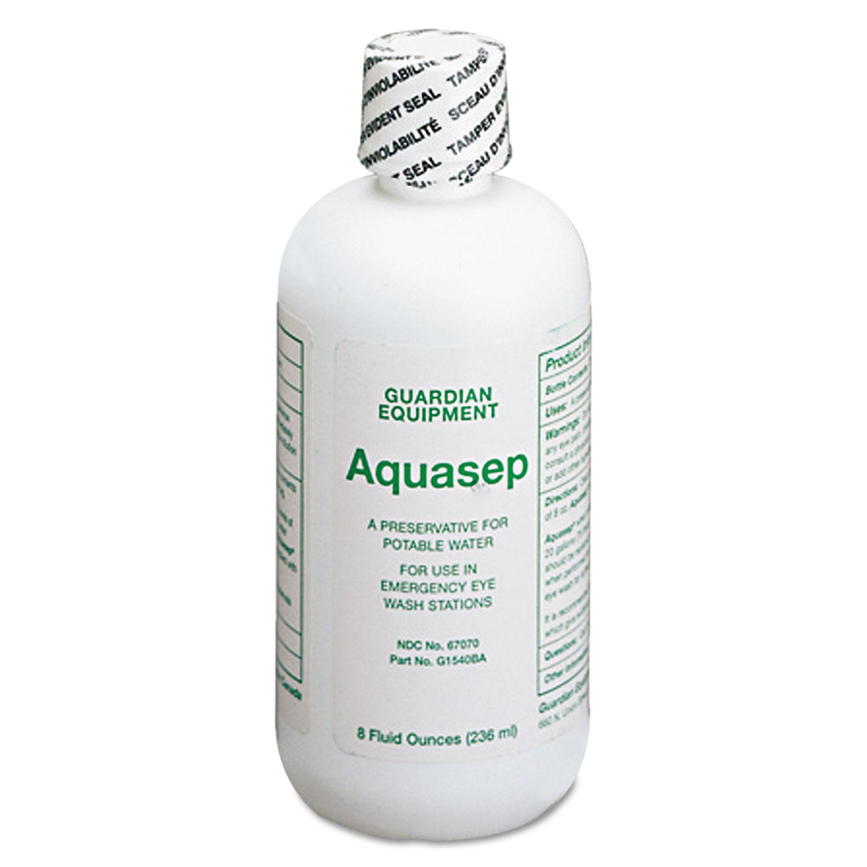 Additive for Portable Emergency Eyewash Stations, 8oz Bottle