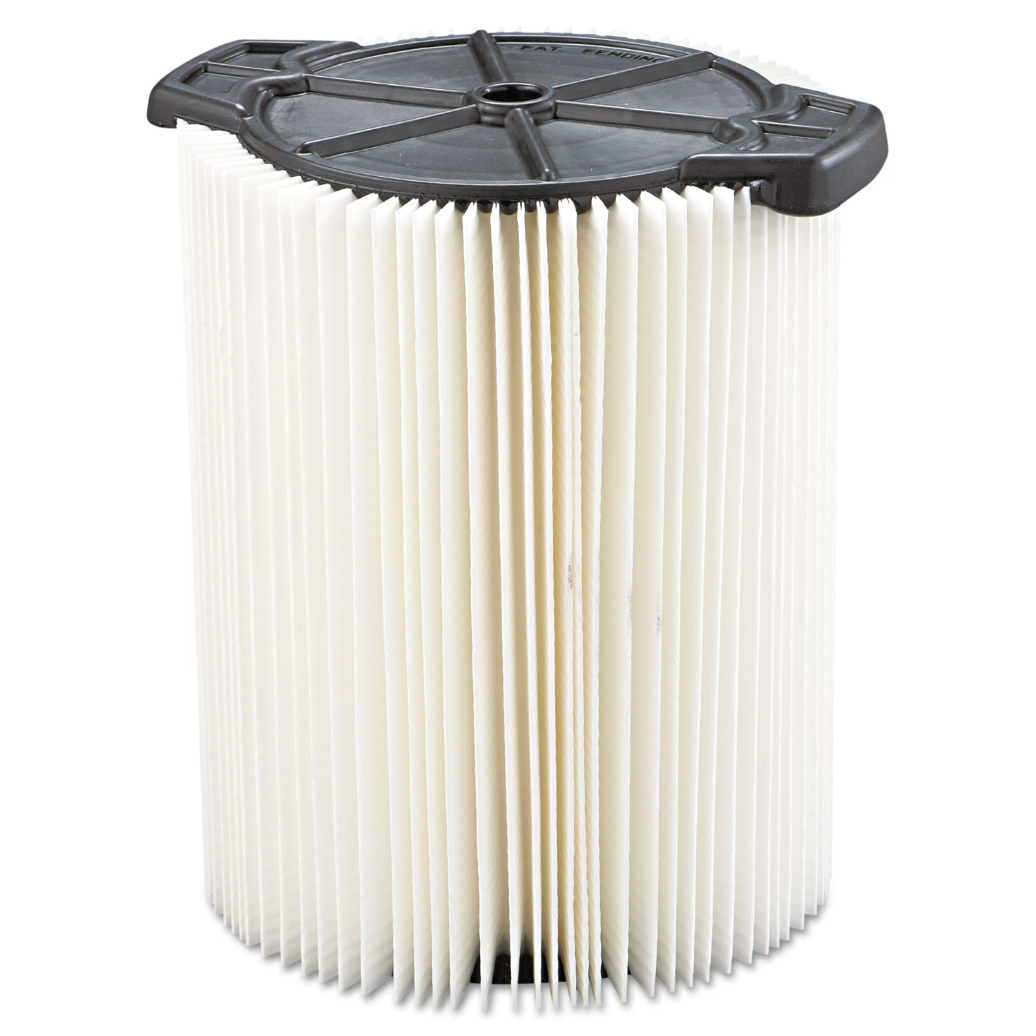 Standard Pleated Paper Vacuum Filter, For 5 to 20gal Wet/Dry Vacs