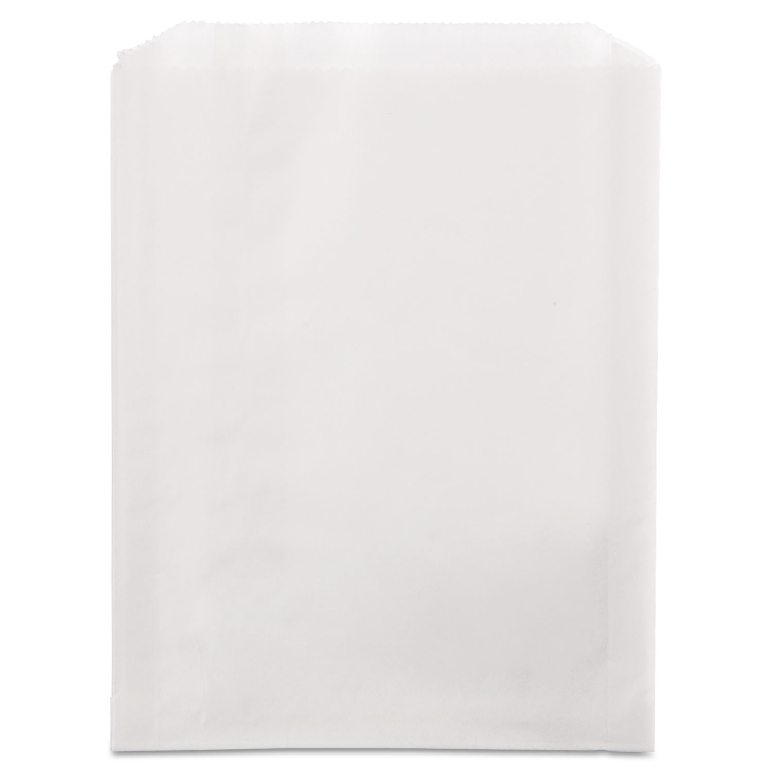 Grease-Resistant Single-Serve Bags, 6.5