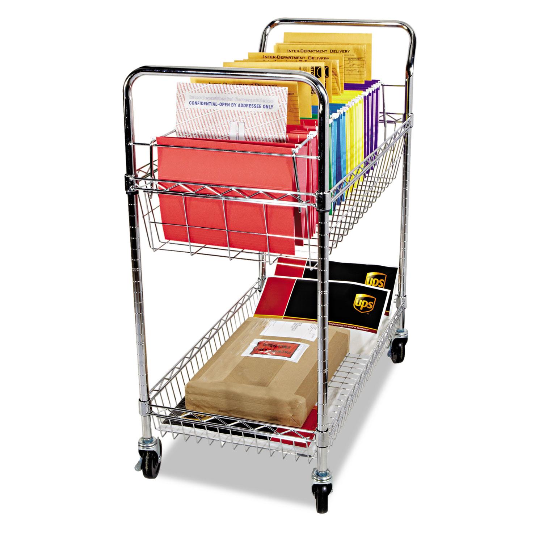 ALEMC3518SR Alera® Carry-all Cart/Mail Cart