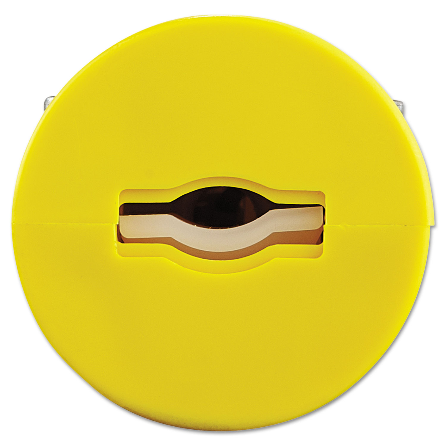 Super-Safeway Female-End Replacement Connector, NEMA 5 15, Rubber, Yellow