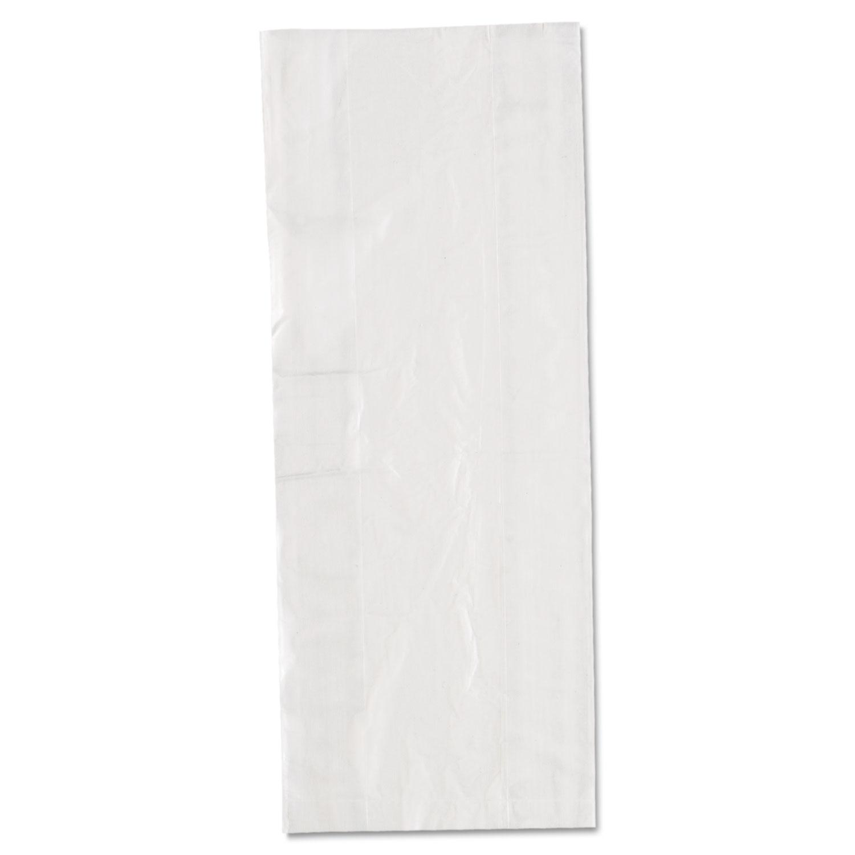 """Food Bags, 3.5 qt, 0.68 mil, 6"""" x 15"""", Clear, 1,000/Carton"""
