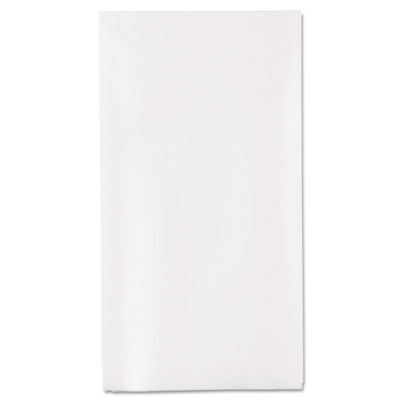 1/6-Fold Linen Replacement Towels, 13 x 17, White, 200/Box, 4 Boxes/Carton