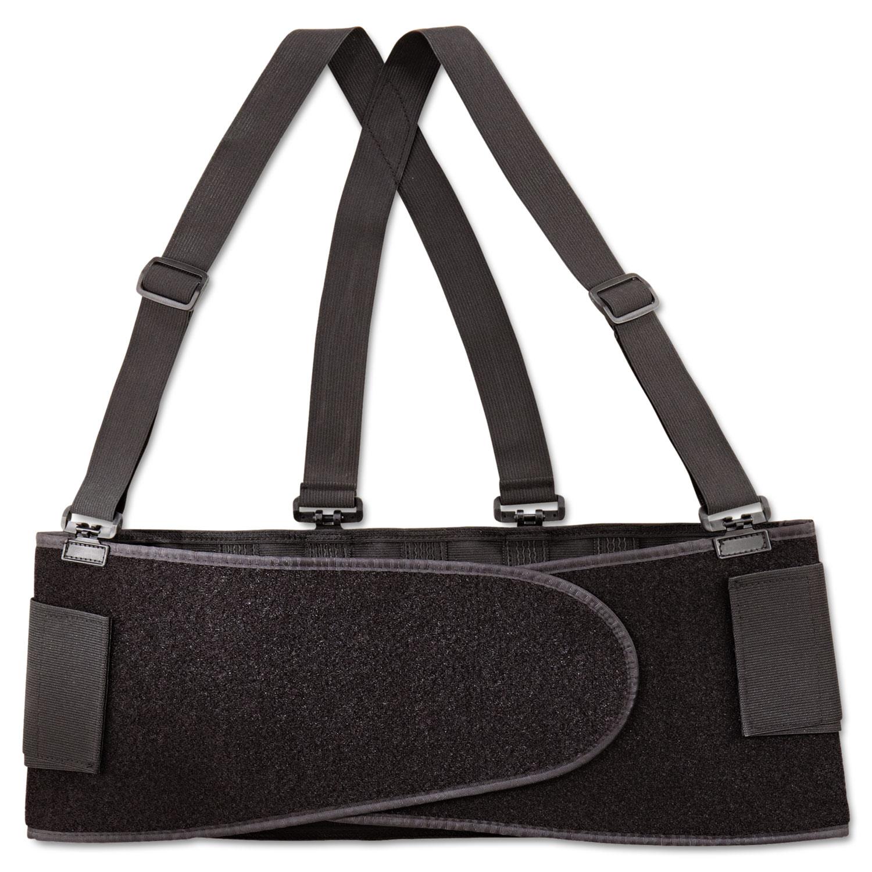 Economy Back Support Belt, X-Large, Black