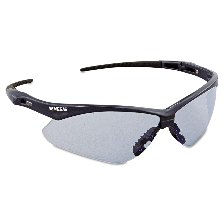 c0bbd8616d65 Nemesis Safety Glasses, Blue Frame, Light Blue Lens - Sani-Chem ...