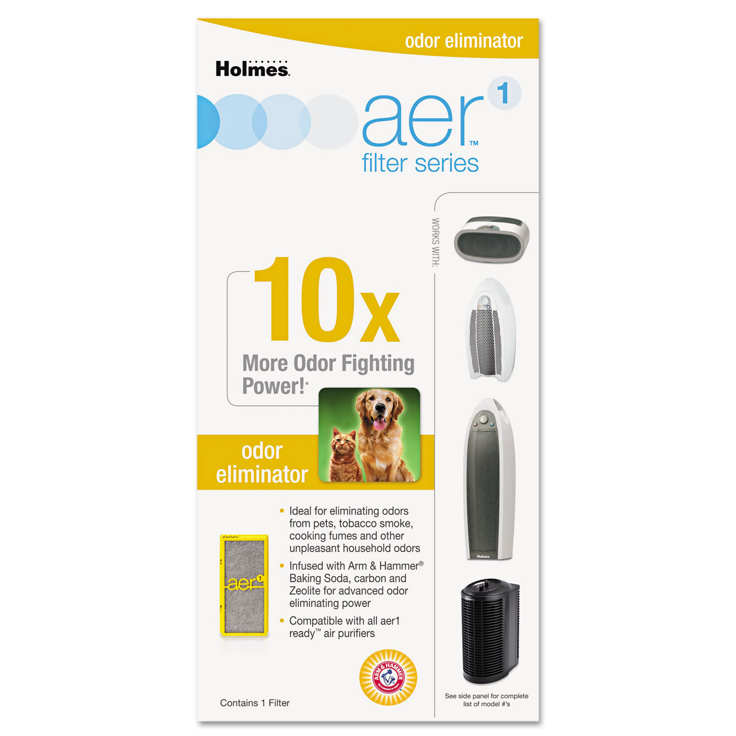 Solution Specific Filters, Odors