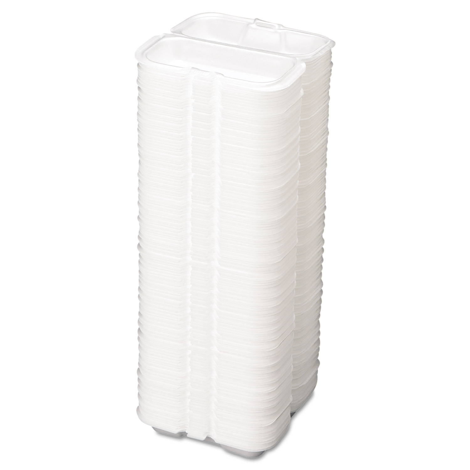 White Foam Hot Dog Container