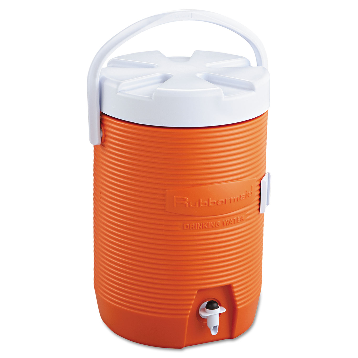 Water Cooler, 12 1/2 dia x 16 3/4h, Orange