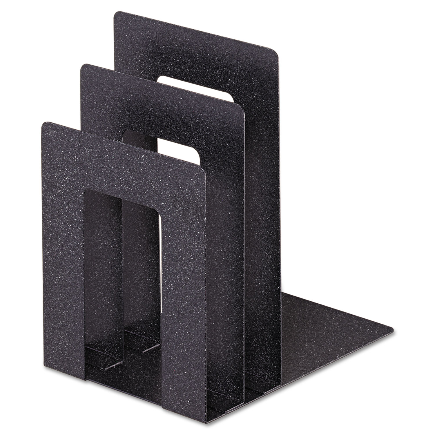 Soho Bookend With Squared Corners 5w X 7d 8h Granite Stone Printing Office Supply