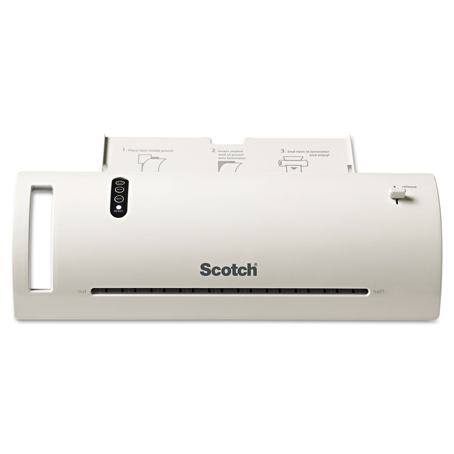 """Thermal Laminator Value Pack, 9"""" Max Document Width, 5 mil Max Document Thickness"""