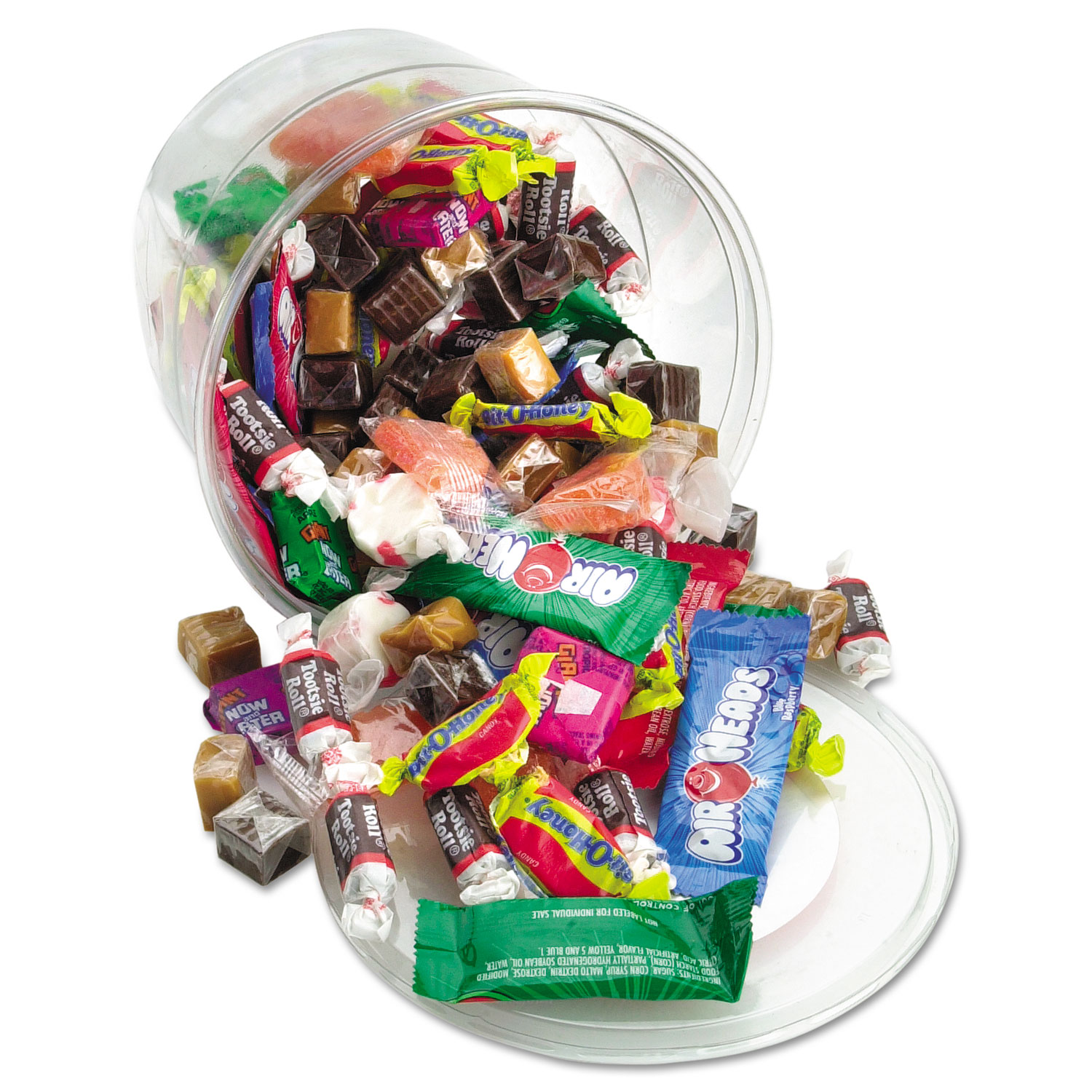 Soft and Chewy Mix, Assorted Soft Candy, 2 lb Resealable Plastic Tub