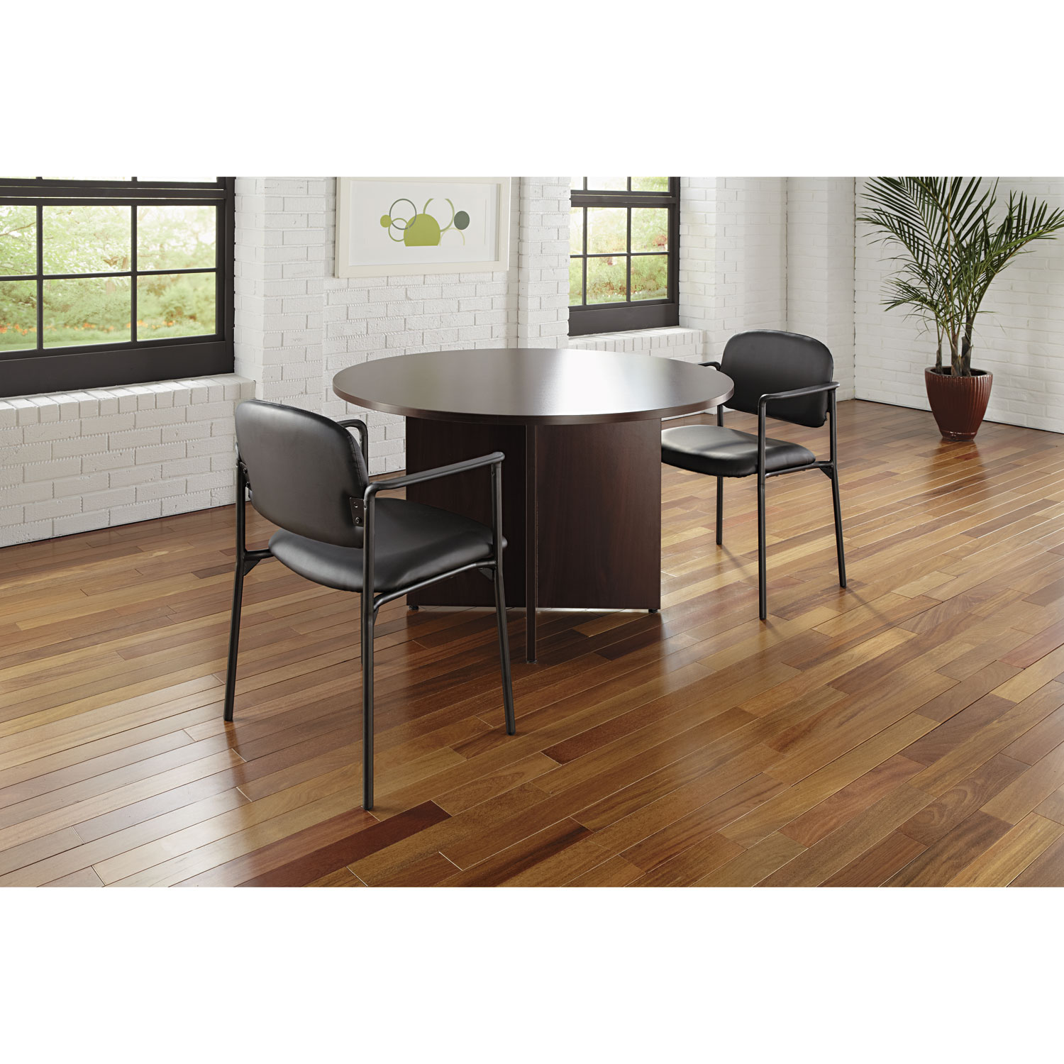 BL Laminate Series Round Conference Table By HON BSXBLCDNN - Mini conference table