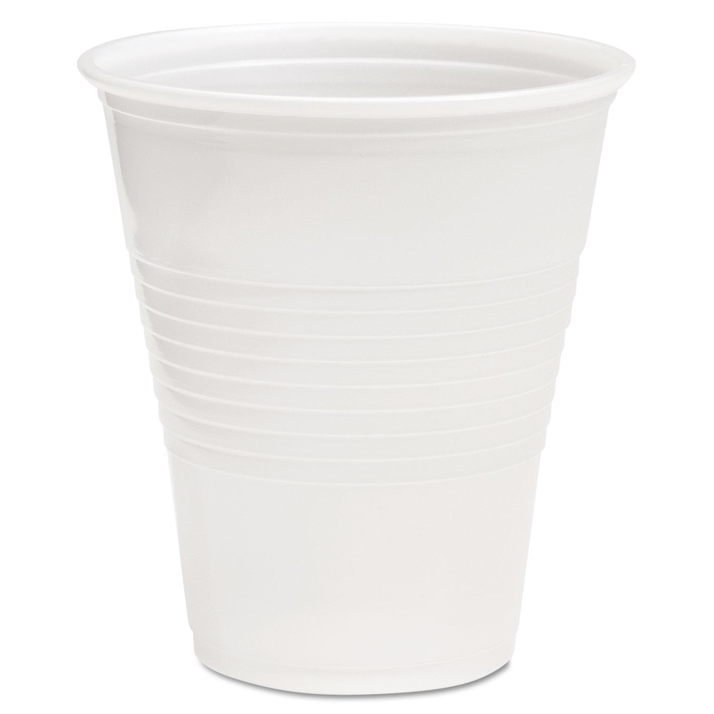 Translucent Plastic Cold Cups, 12oz, Polypropylene, 50/Pack