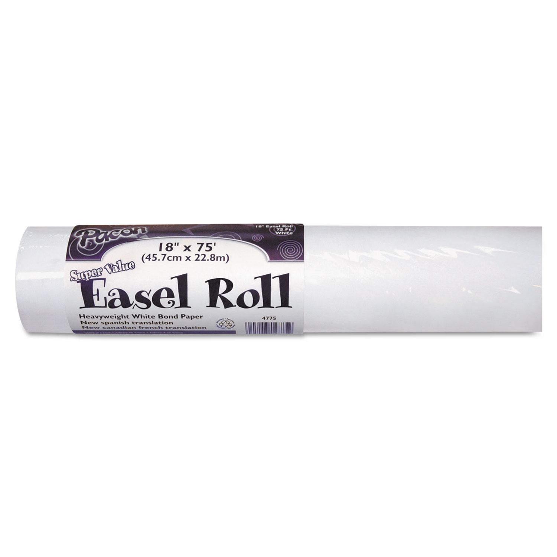 """Easel Rolls, 35lb, 18"""" x 75ft, White"""