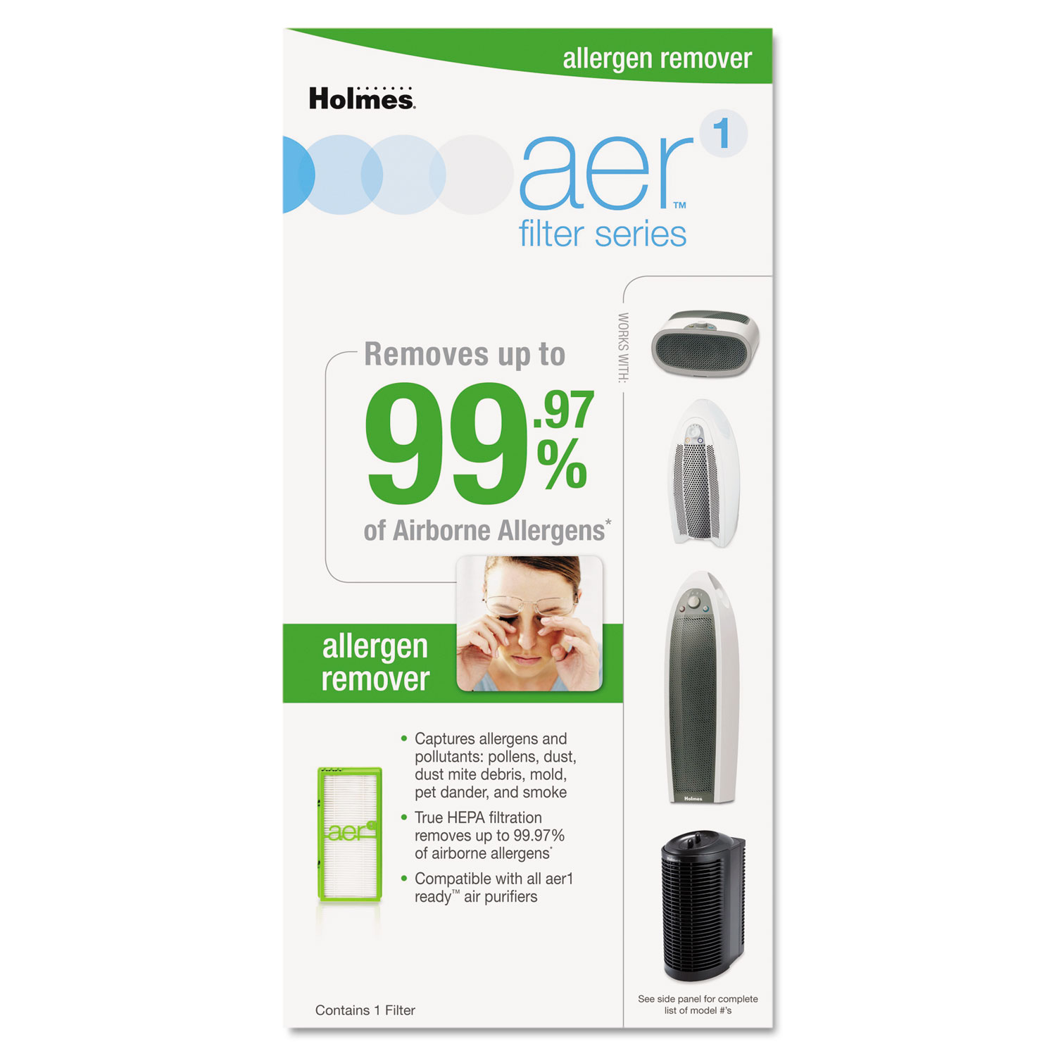Solution Specific Filters, Allergens
