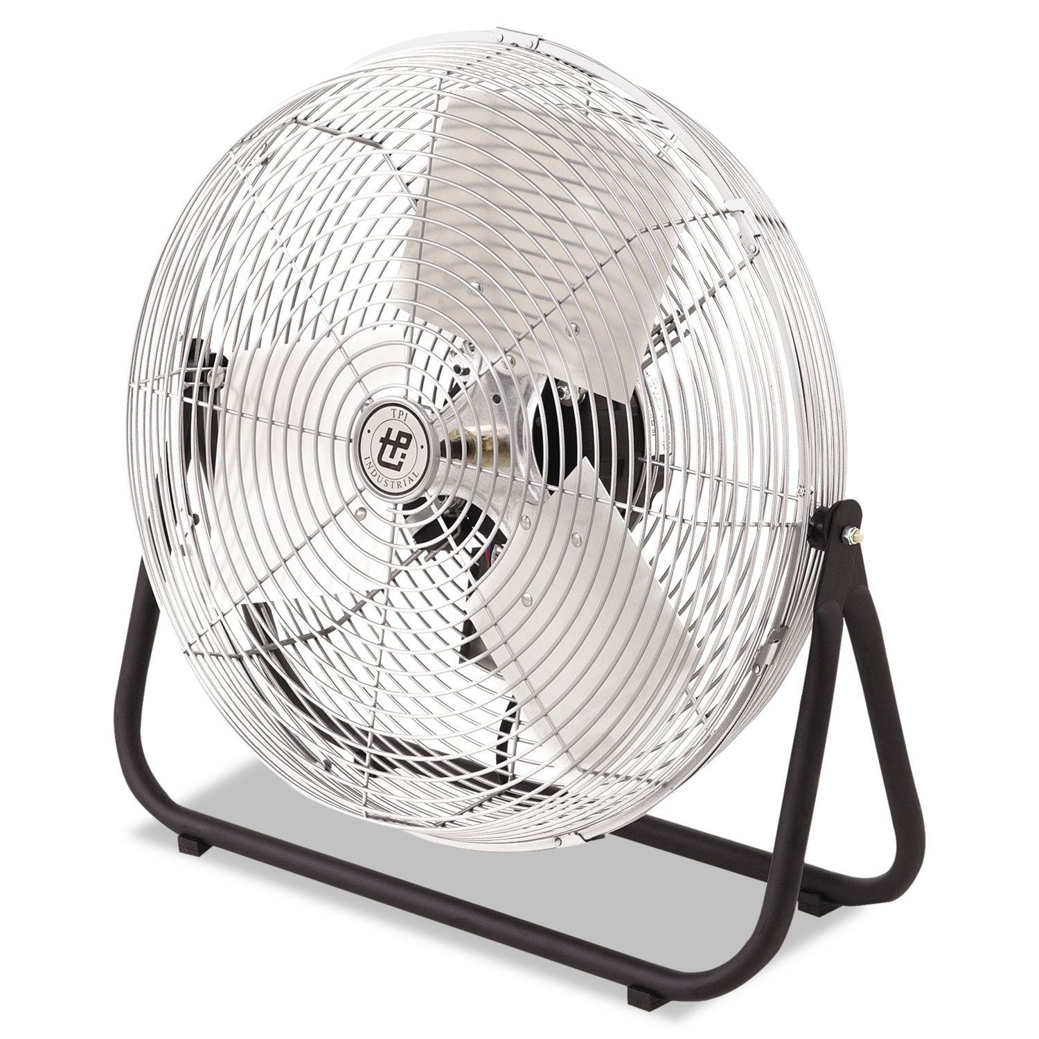 Industrial Floor Fan, 18, 1/8hp, 3-Speed, 1-Phase