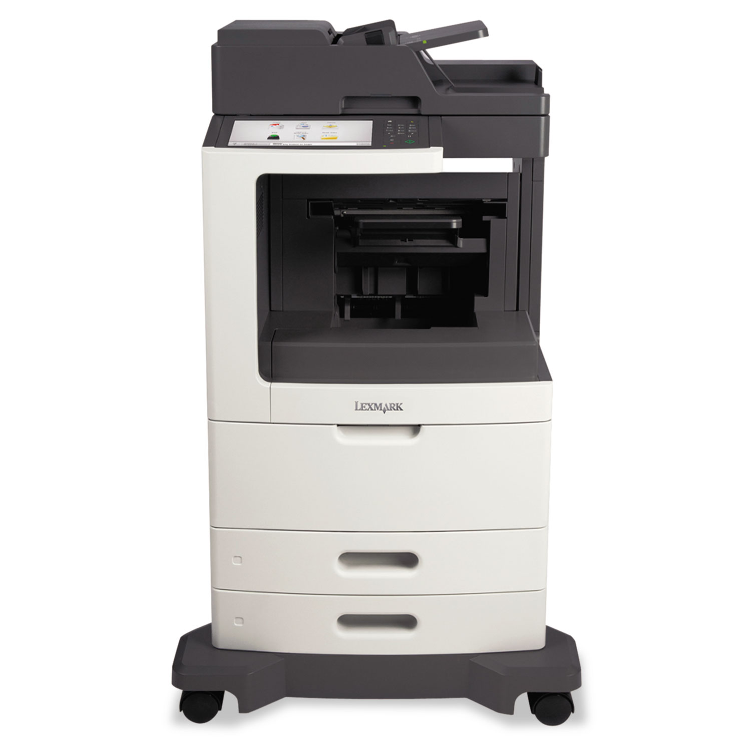 MX811de Multifunction Laser Printer, Copy/Fax/Print/Scan