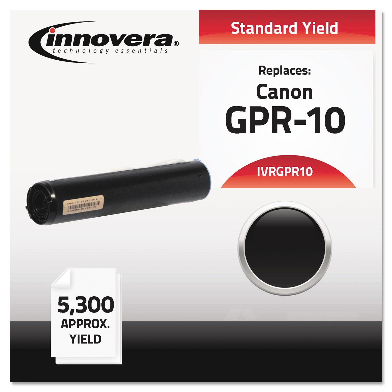 Compatible 7814A003AA (GPR-10) Toner, Black