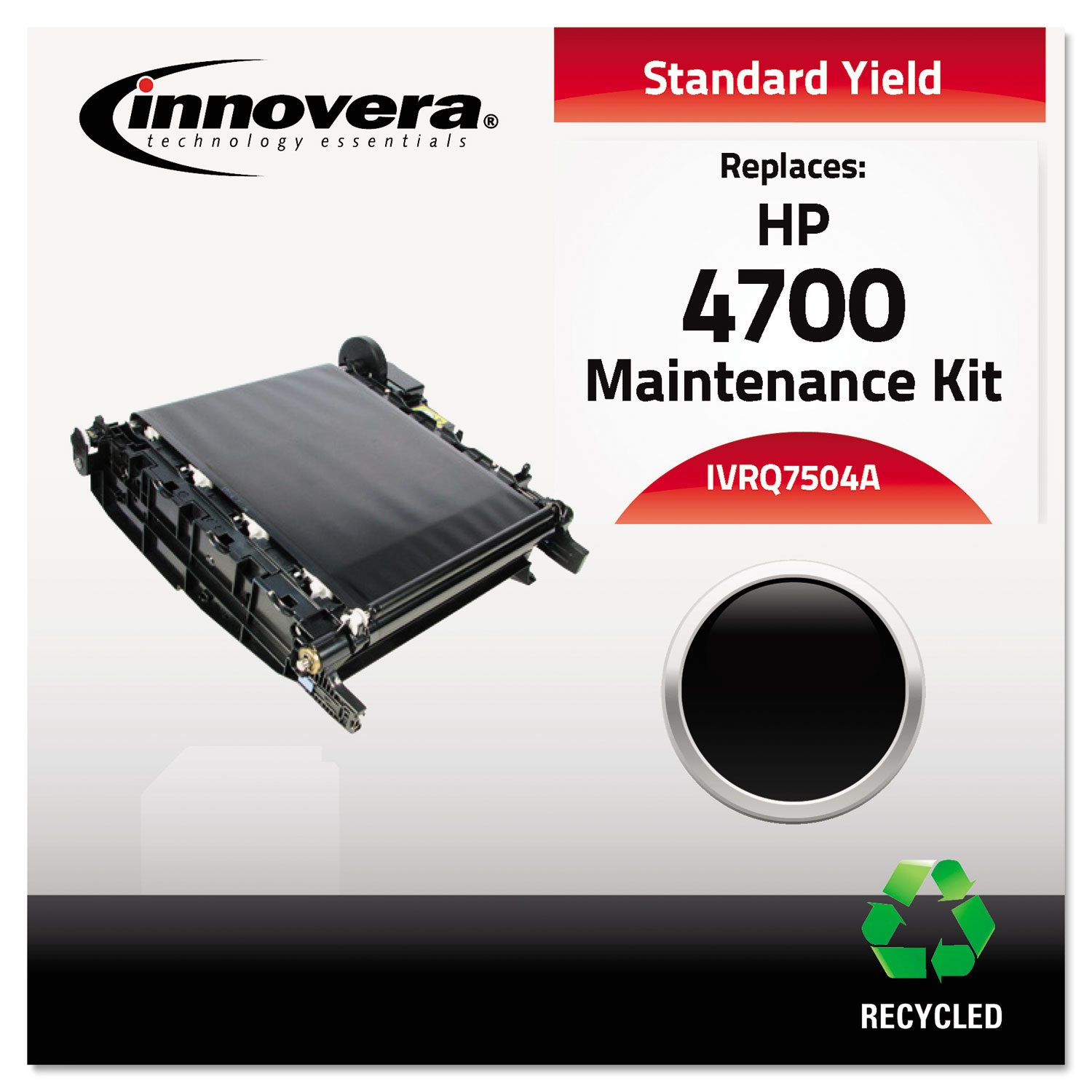 Remanufactured Q7504A Transfer Kit, 100,000 Page-Yield IVRQ7504A