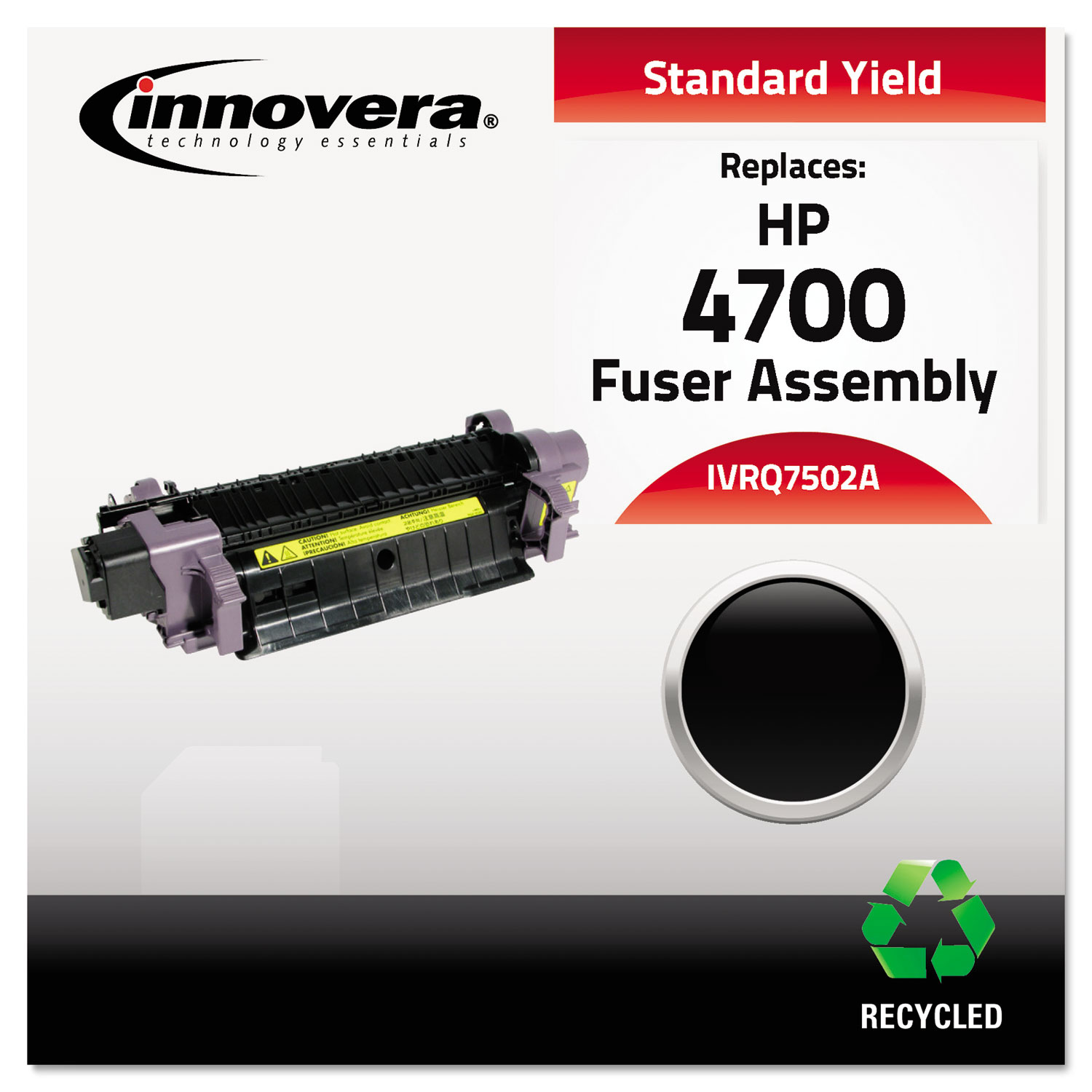 Remanufactured Q7502A (4700) Fuser, 100,000 Page-Yield IVRQ7502A