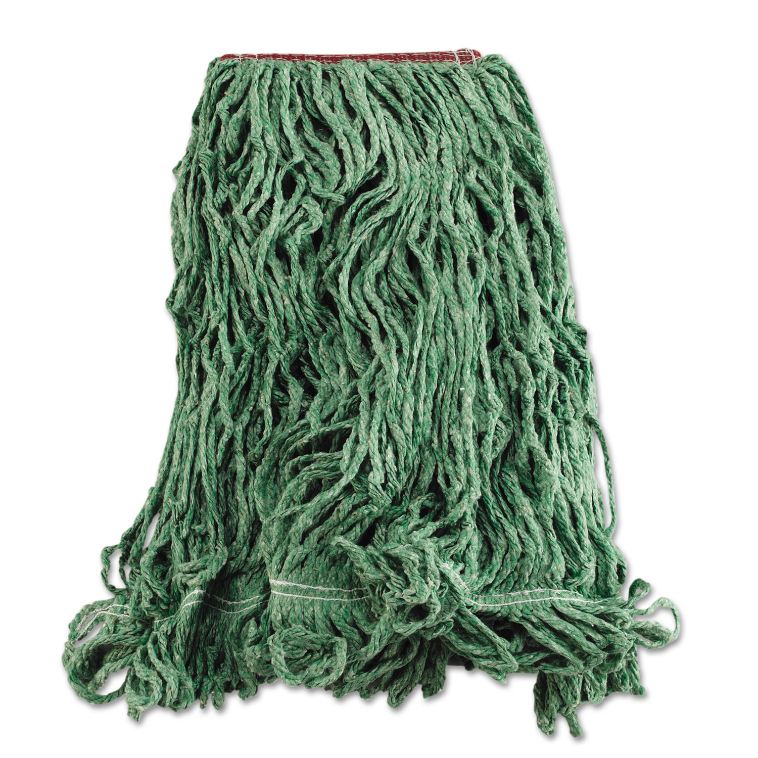 Super Stitch Blend Mop Heads Cotton Synthetic Green Large Supply Solutions