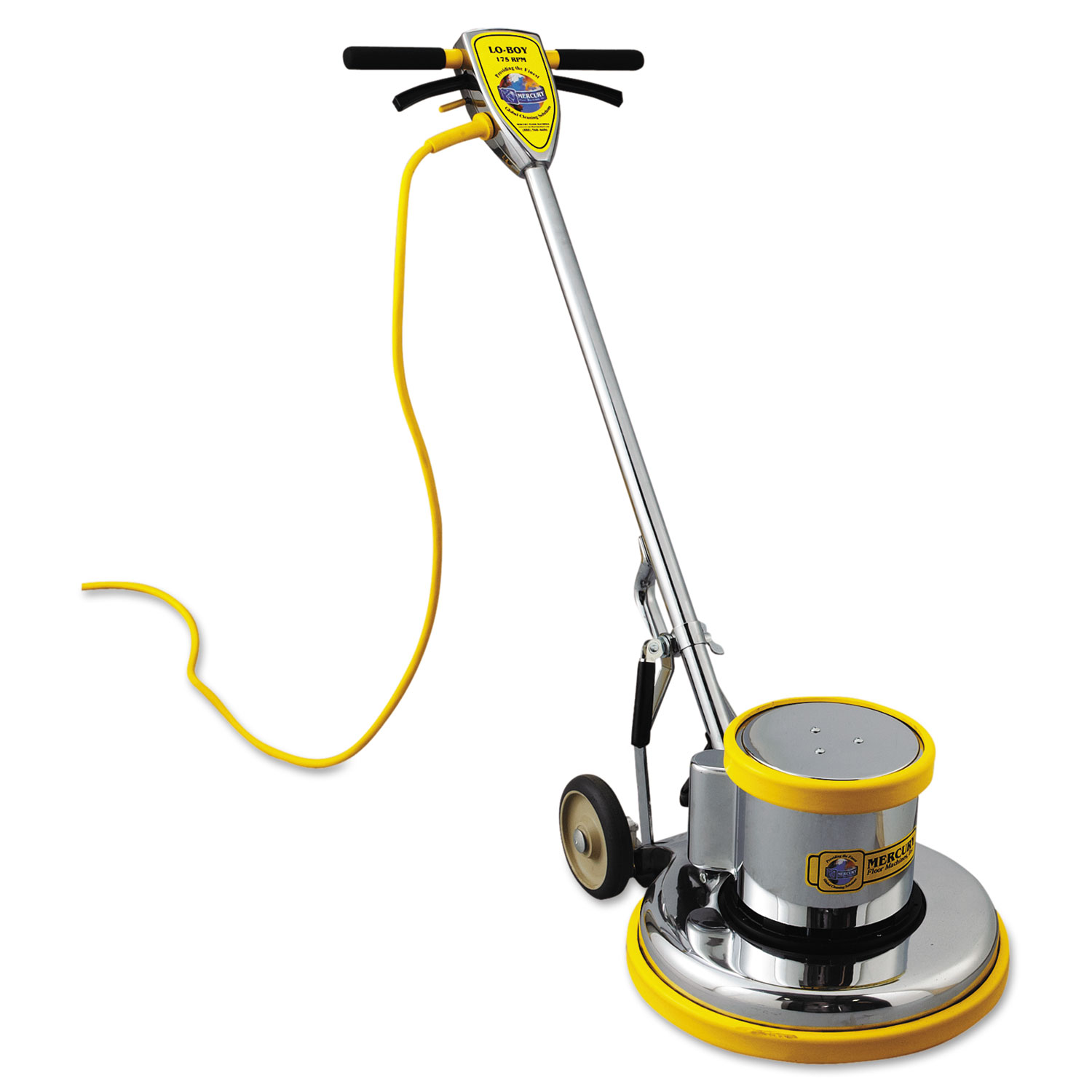 PRO-175-17 Floor Machine, 1.5 HP, 175 RPM, 16 Brush Diameter