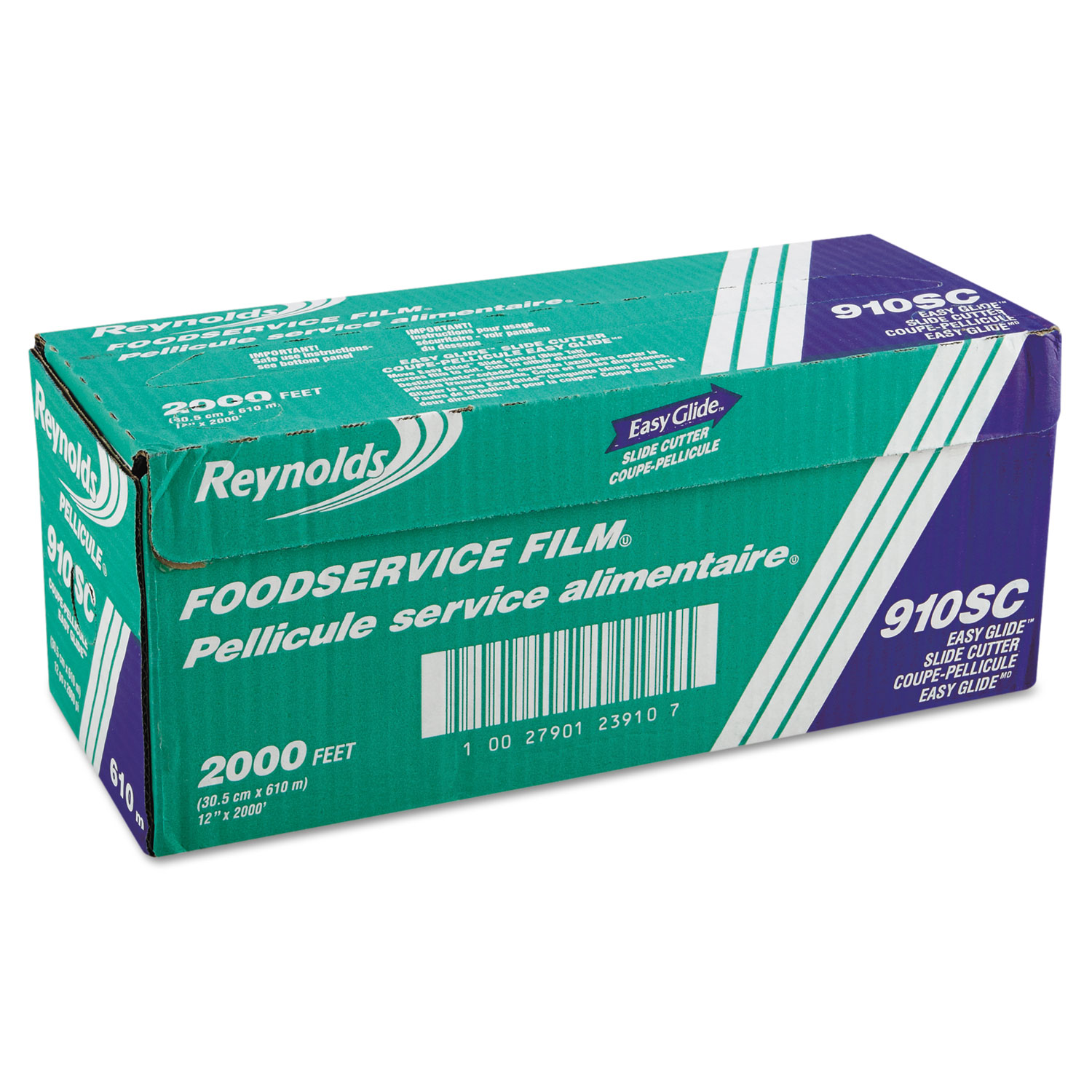 Rfp910sc Reynolds Wrap 174 Pvc Food Wrap Film Roll In Easy