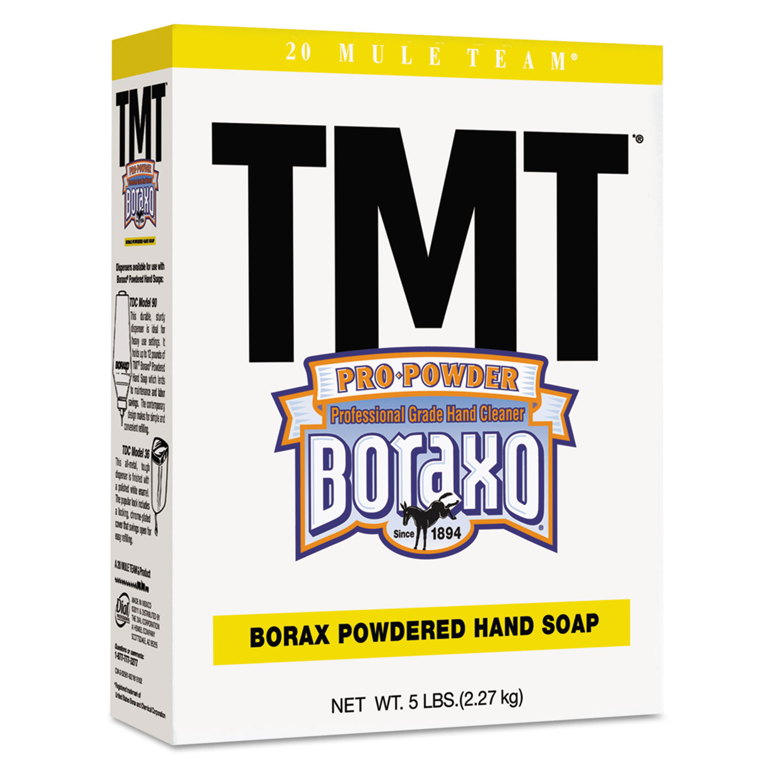 TMT Powdered Hand Soap, Unscented, 5 lb Box