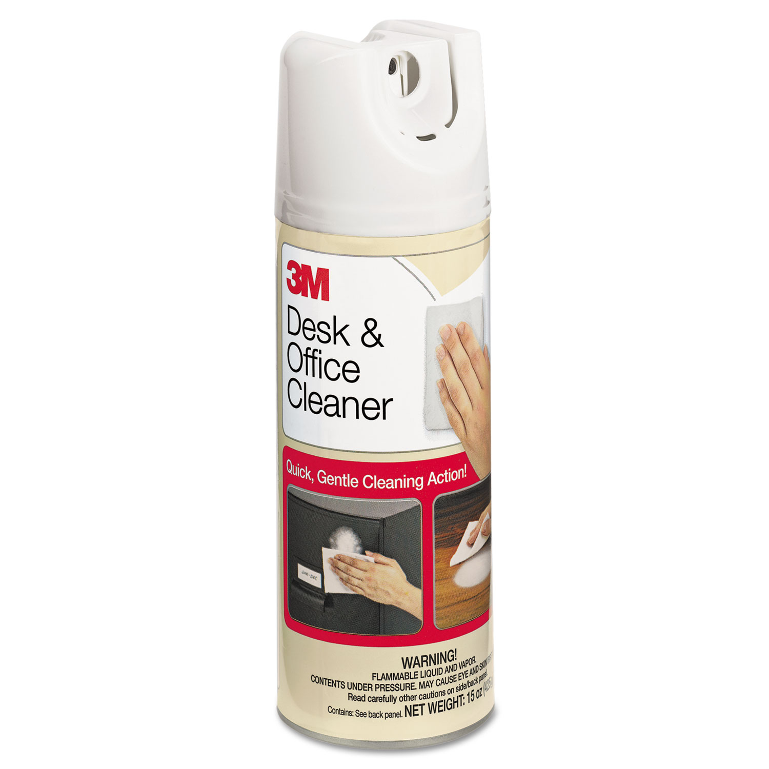 Desk and Office Spray Cleaner, 15 oz Aerosol