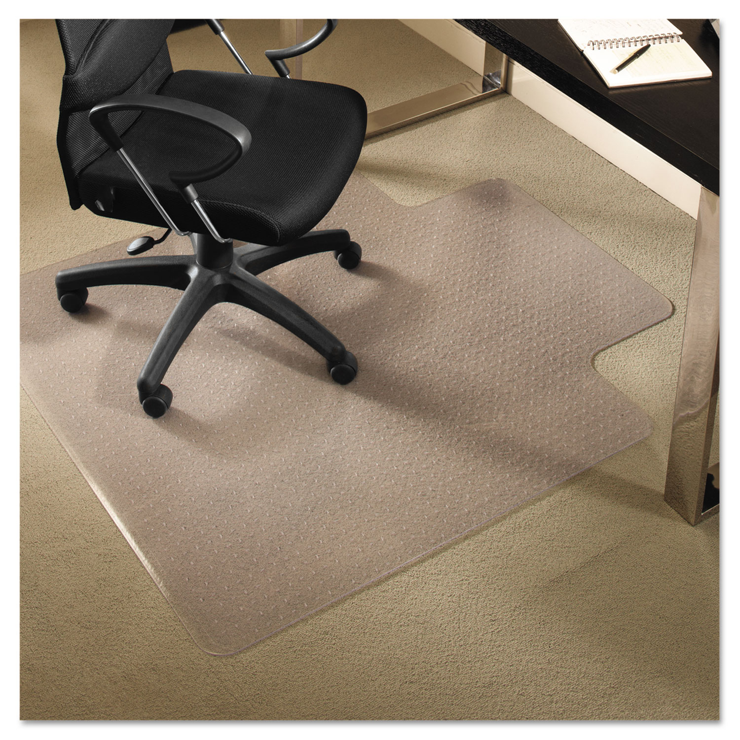 Thumbnail 1 Thumbnail 2 & See the EverLife® All Day Support Chair Mat For Medium Pile Carpet ...