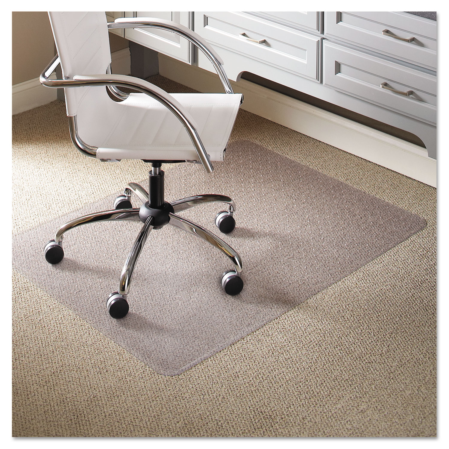 Check Out Everlife Light Use Chair Mat For Flat Pile Carpet And