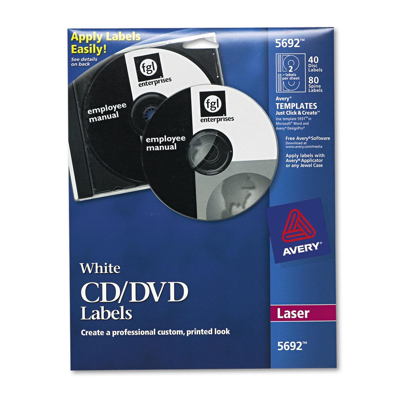 Laser Cd Labels Matte White 40 Pack United Imaging