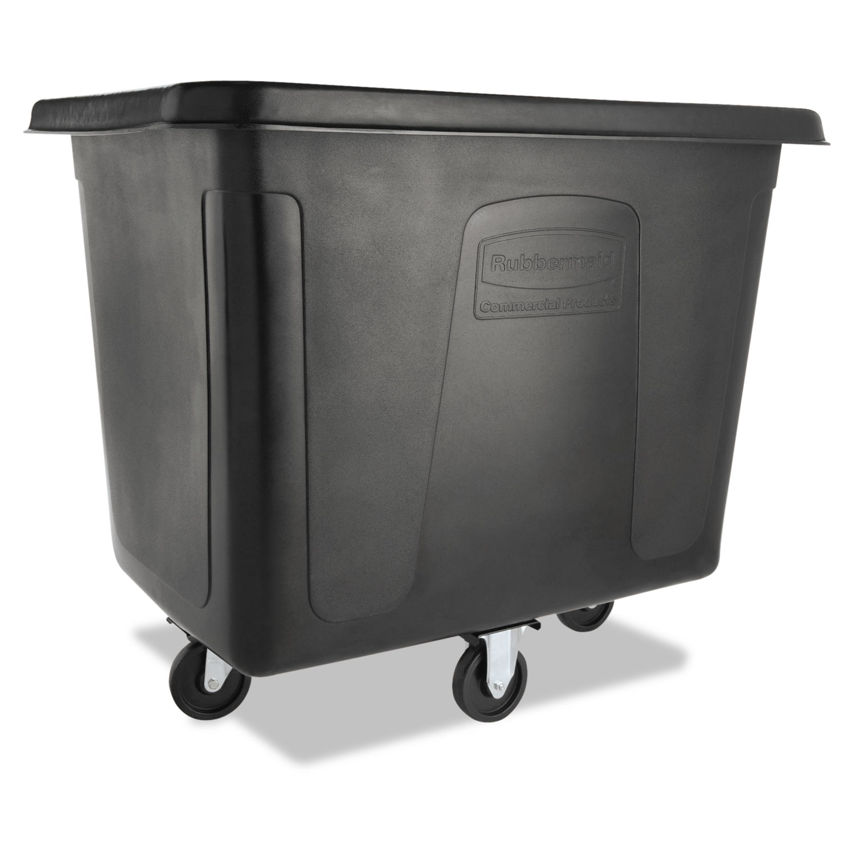 Cube Truck, 500 lb Capacity, Black
