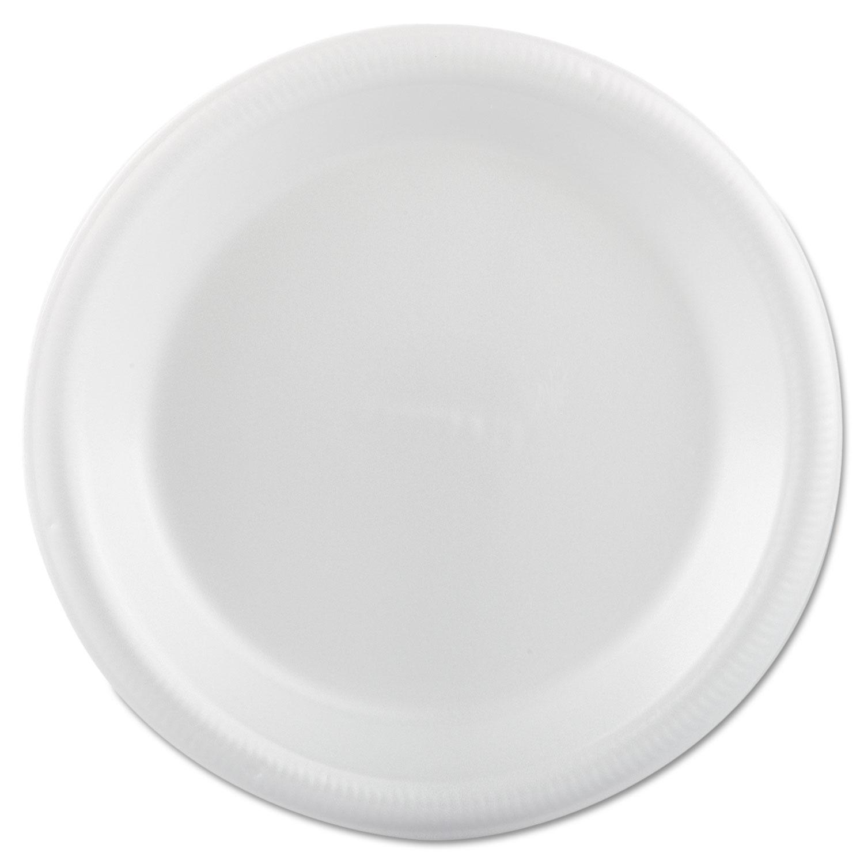 Foam Dinnerware, Plate, 9