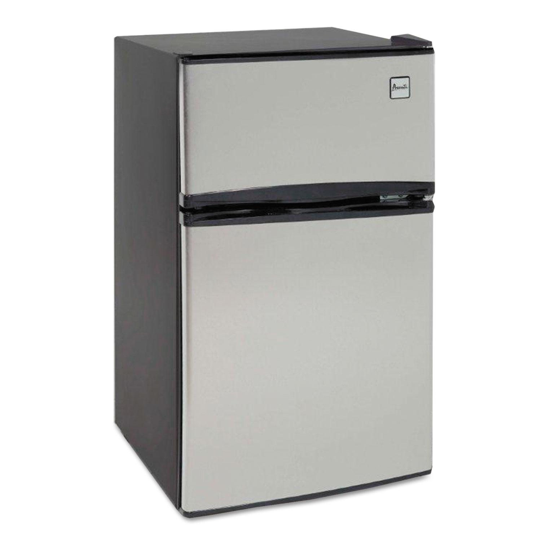Counter Height 3 1 Cu Ft Two Door Refrigerator Freezer By