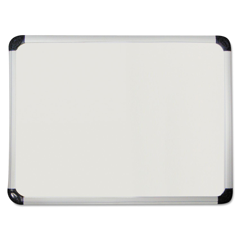 Porcelain Magnetic Dry Erase Board, 72 x 48, White