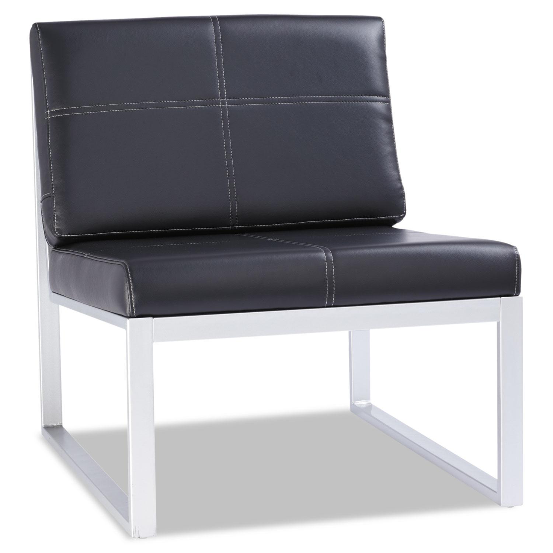 Alerl8319cs Alera 174 Ispara Series Armless Cube Chair Zuma