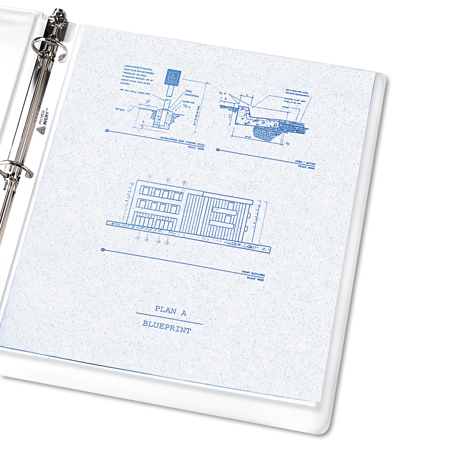 AVE74101 Top-Load Sheet Protector