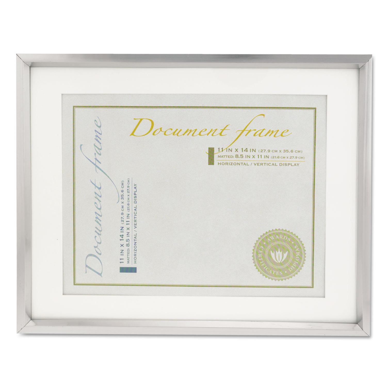 Plastic Document Frame w/Mat by Universal® UNV76854 - OnTimeSupplies.com