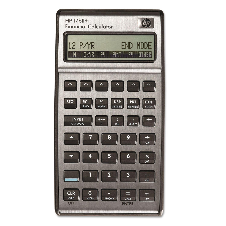 17bII+ Financial Calculator, 22-Digit LCD