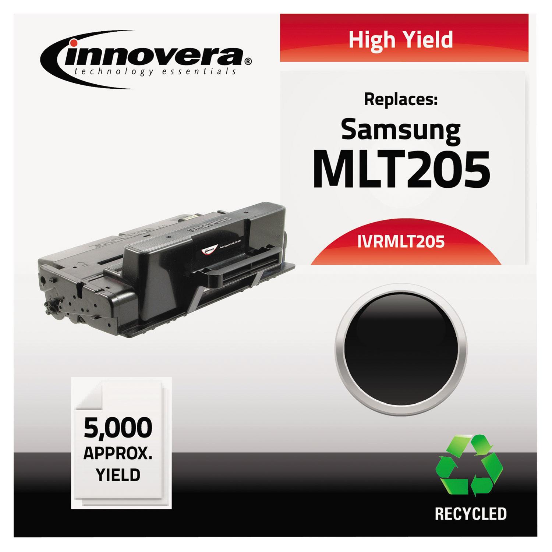 Remanufactured MLT-D205L Toner, 5000 Page-Yield, Black