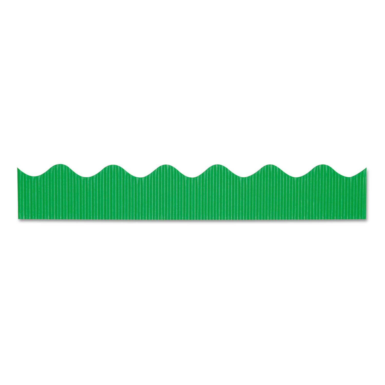 "Bordette Decorative Border, 2 1/4"" x 50 ft roll, Apple Green"