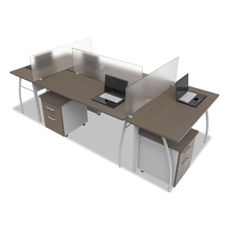 Trento Line Rectangular Desk By Linea Italia 174 Littr742moc