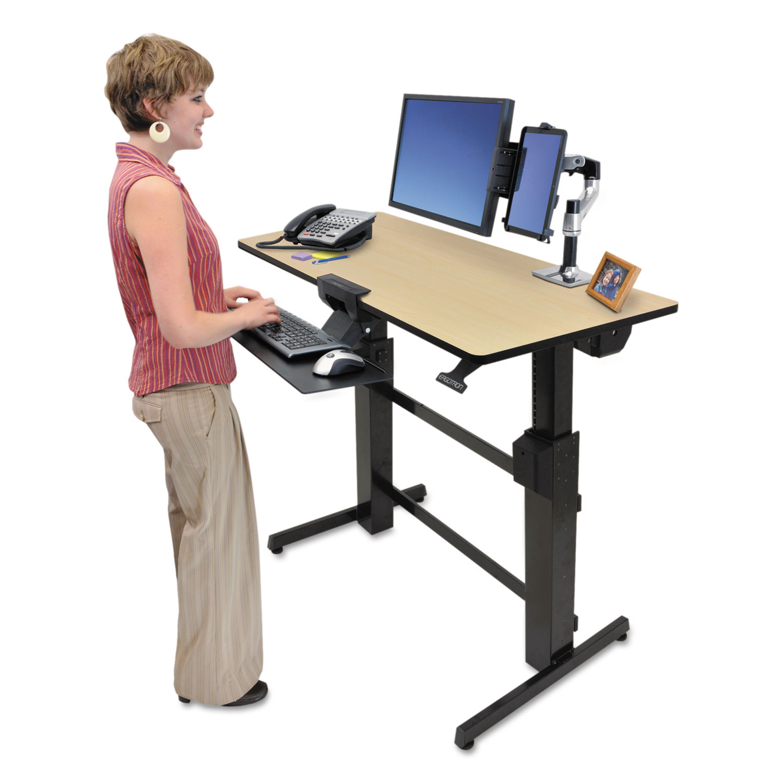 Workfit D Sit Stand Workstation By Workfit By Ergotron