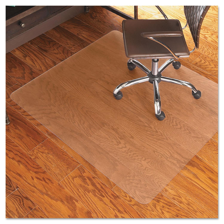 46x60 rectangle chair mat by es robbins esr131826. Black Bedroom Furniture Sets. Home Design Ideas